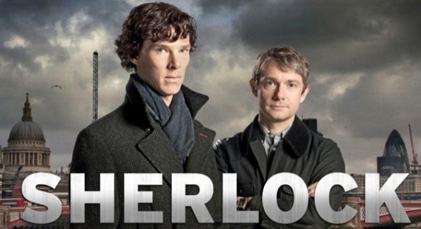 Sherlock Holmes BBC Serie Benedict Cumberbatch Martin Freeman
