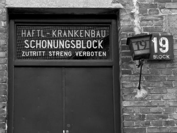 Auschwitz Schonungsblock